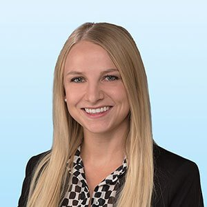Kelsey Robinson, client services coordinator